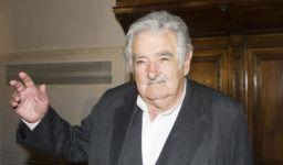 Roma 28/05/2015, presentazione del libro ' La felicita' al potere '. Nella foto Jose' Pepe Mujica